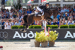 Mathy Guery Jerome, BEL, Quel Homme de Hus<br /> Grand Prix Rolex powered by Audi <br /> CSI5* Knokke 2019<br /> © Dirk Caremans<br /> Guery Jerome, BEL, Quel Homme de Hus