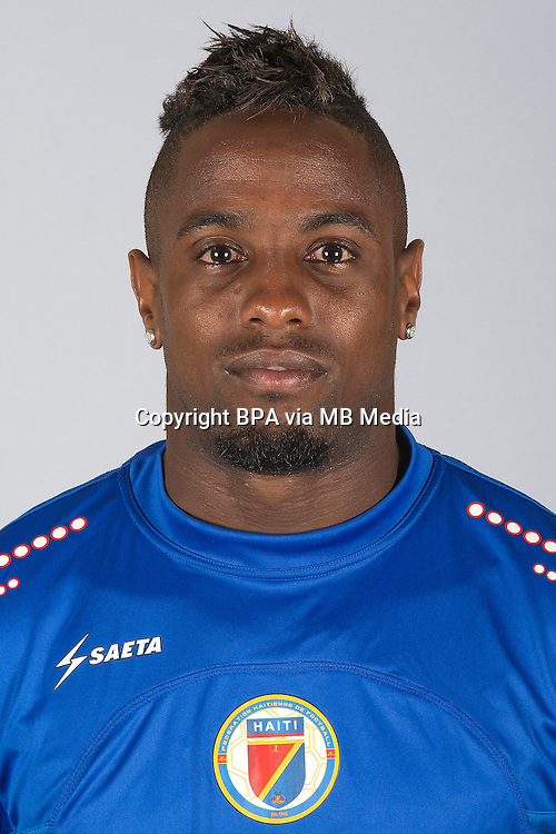 Conmebol_Concacaf - Copa America Centenario 2016 - <br /> Haiti National Team - <br /> Jean Eudes Maurice
