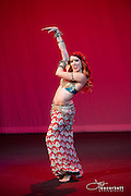 A dance performance at the 2014 Las Vegas Bellydance Intensive