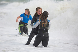 Brighton, UK. 24/09/2016, Members of the Surf Life Saving Club hold one of their yearly community events on Brighton beach. Photo Credit: Hugo Michiels