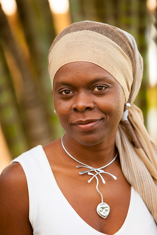 Ms. Ichia Tiyi. Tiyi By Design, is an exclusive Caribbean brand, producing exquisite, hand crafted art jewelry. Formerly an attorney, she is from Barbados, West Indies.