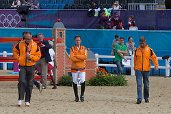 Ehrens Rob (NED), Van Der Vleuten Maikel (NED), Van Der Vleuten Eric (NED)<br /> Olympic Games London 2012<br /> © Dirk Caremans