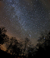 The Milky Way, Orwell, New York, 2014.  (Photo by Robert Falcetti)