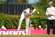 Tim Murtagh of Middlesex bowling during the Specsavers County Champ Div 2 match between Middlesex County Cricket Club and Glamorgan County Cricket Club at Radlett Cricket Ground, Radlett, Herfordshire,United Kingdom on 17 June 2019.