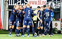 Fotball, 22. september  2019 , Eliteserien , Tromsø - Strømsgodset<br />  Mikkel Maigaard , SIF , JUBEL SCORING