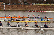 Chiswick, LONDON, ENGLAND, 25.03.2006, 2006 Head of the River Race. Mortlake to Putney. © Peter Spurrier/Intersport-images.com. 2006 Men's Head of the River Race, Rowing Course: River Thames, Championship course, Putney to Mortlake 4.25 Miles 2006 Men's Head of the River Race, Rowing Course: River Thames, Championship course, Putney to Mortlake 4.25 Miles
