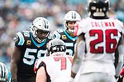December 23, 2018. Panthers vs Falcons. Thomas Davis, OLB