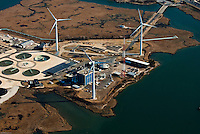 Aerial view of Atlantic City, New Jersey aerial view of <br /> The 7.5 MW Jersey-Atlantic Wind Farm