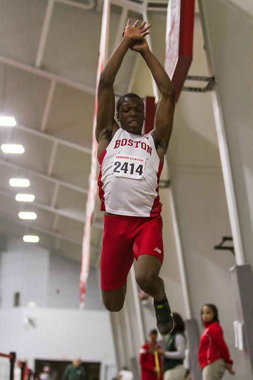 Boston University John Terrier Classic Indoor Track & Field: mens triple jump, David Oluwadara BU