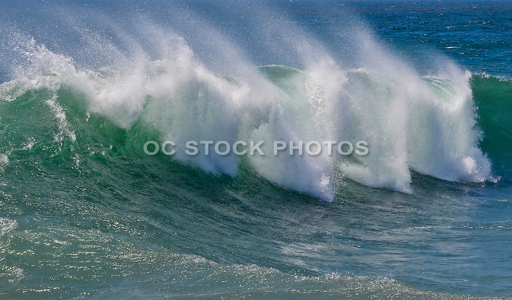 Ocean Waves Crashing At The Wedge
