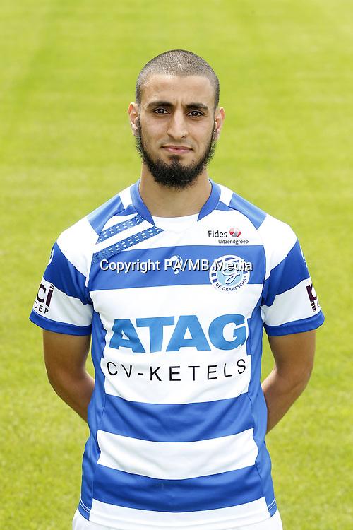 Youssef el Jebli during the team presentation of De Graafschap on July 24, 2015 at the Vijverberg in Doetinchem, The Netherlands.