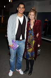 MARISSA MONTGOMERY and BEN HYPOLITE at a fashion show and after party to celebrate the 20th Anniversay of fashion designer Ozwald Boateng held at the Victoria & Albert Museum, London on 25th November 2005.<br /><br />NON EXCLUSIVE - WORLD RIGHTS