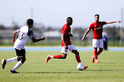 during the 2nd leg of the match after the previous day's game was abandoned at half time due to extreme weather - Rogan/JMP - 14/07/2019 - IMG Academy, Bradenton - Florida, USA - Bristol City v Derby County - Pre-Season Tour Day 3.