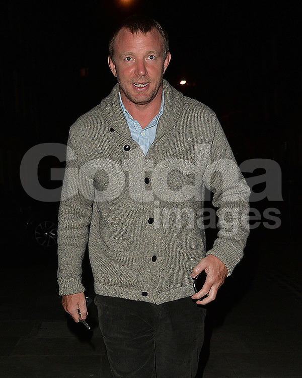 Director Guy Ritchie at Madonna's house in London, UK. 18/04/2016<br />