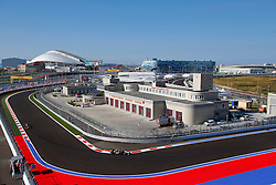 10.10.2014, Sochi Autodrom, Sotschi, RUS, FIA, Formel 1, Grosser Preis von Russland, Training, im Bild Sergio Perez (MEX) Force India VJM07. // during the Practice of the FIA Formula 1 Russia Grand Prix at the Sochi Autodrom in Sotschi, Russia on 2014/10/10. EXPA Pictures © 2014, PhotoCredit: EXPA/ Sutton Images/ Martini<br /> <br /> *****ATTENTION - for AUT, SLO, CRO, SRB, BIH, MAZ only*****