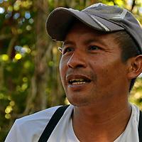 Betulio es uno de los lideres en Kamarata. Edo. Bolivar. Venezuela. Betulio is one of the leading in Kamarata. Edo. Bolivar. Febrero 23, 2013. Jimmy Villalta.