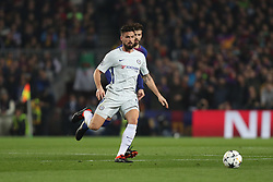 March 14, 2018 - Barcelona, Spain - OLIVIER GIROUD of Chelsea FC during the UEFA Champions League, round of 16, 2nd leg football match between FC Barcelona and Chelsea FC on March 14, 2018 at Camp Nou stadium in Barcelona, Spain (Credit Image: © Manuel Blondeau via ZUMA Wire)