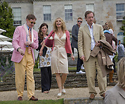 Nick Foulkes; Maryam D'Abo; Geordie Greig, The Cartier Style et Luxe Concours lunch at the Goodwood Festival of Speed. July 13, 2008  *** Local Caption *** -DO NOT ARCHIVE-© Copyright Photograph by Dafydd Jones. 248 Clapham Rd. London SW9 0PZ. Tel 0207 820 0771. www.dafjones.com.