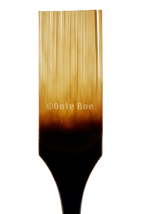 a from bamboo made cleaning brush used for cleaning scraper utensils