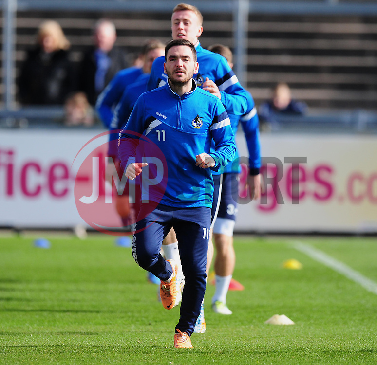 Bristol Rovers Jake Gosling.  - Photo mandatory by-line: Alex James/JMP - Mobile: 07966 386802 - 31/03/2015 - SPORT - Football - Bristol - Memorial Stadium - Vanarama Football Conference - Bristol Rovers Open Training Session