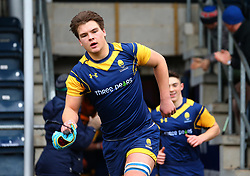Oli Thorneywork (Warwick School) of Worcester Warriors Under 18s - Mandatory by-line: Robbie Stephenson/JMP - 14/01/2018 - RUGBY - Sixways Stadium - Worcester, England - Worcester Warriors Under 18s v Yorkshire Carnegie Under 18s - Premiership Rugby U18 Academy