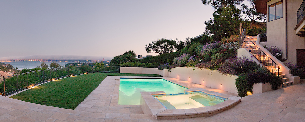 Landscape design for a private residence