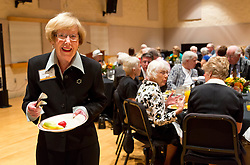 Golden Club Brunch in Mary Baker Russell for Homecoming 2014 at PLU on Sunday, Oct. 5, 2014. (PLU Photo/John Froschauer)