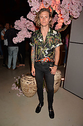 Dougie Poynter at the Warner Music Group and British GQ Summer Party in partnership with Quintessentially held at Nobu Shoreditch, Willow StreetLondon England. 5 July 2017.<br /> Photo by Dominic O'Neill/SilverHub 0203 174 1069 sales@silverhubmedia.com