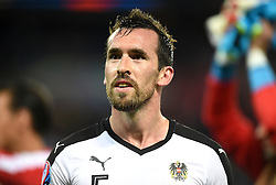 Christian Fuchs of Austria  - Mandatory by-line: Joe Meredith/JMP - 18/06/2016 - FOOTBALL - Parc des Princes - Paris, France - Portugal v Austria - UEFA European Championship Group F