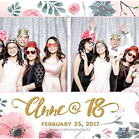 Anne's 18th B-day Photobooth