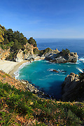 McWay Falls at Julia Pfeiffer Burns State Park at Big Sur