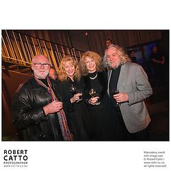 Tom Scott;Chris Hennah;Dan Hennah at the Film Wellington 10th Anniversary Celebration at the Front Room, Wellington, New Zealand.<br />