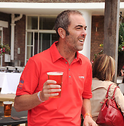 JAMES NESBITT at the Mini Masters Golf tournament in aid of LEUKA - London's celebrity golf tournament was held at Duke's Meadow Golf Club, Dan Mason Drive, London W4 on 16th July 2010.