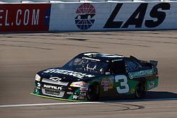 Mar 9, 2012; Las Vegas, NV, USA; Nationwide Series driver Austin Dillon (3) during practice for the Sam's Town 300 at Las Vegas Motor Speedway. Mandatory Credit: Jason O. Watson-US PRESSWIRE