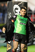 Sam Hidalgo-Clyne gets ready for action during the Guinness Pro 14 2017_18 match between Edinburgh Rugby and Benetton Treviso at Myreside Stadium, Edinburgh, Scotland on 15 September 2017. Photo by Kevin Murray.