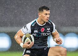 Shaun Venter of Ospreys<br /> <br /> Photographer Simon King/Replay Images<br /> <br /> Guinness PRO14 Round 6 - Ospreys v Southern Kings - Saturday 9th November 2019 - Liberty Stadium - Swansea<br /> <br /> World Copyright © Replay Images . All rights reserved. info@replayimages.co.uk - http://replayimages.co.uk