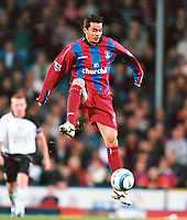 Fotball<br /> Premier League England 2004/2005<br /> Foto: Colorsport/Digitalsport<br /> NORWAY ONLY<br /> <br /> Crystal Palace v Fulham<br /> <br /> FA Barclays Premiership. 04/10/2004.<br /> <br /> Ivan Kaviedes (Palace) New Signing.