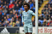 Willian (22) of Chelsea during the Premier League match between Cardiff City and Chelsea at the Cardiff City Stadium, Cardiff, Wales on 31 March 2019.