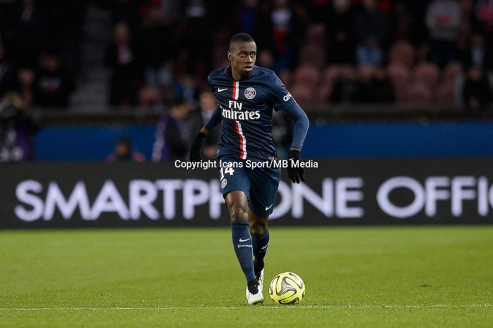 Blaise MATUIDI - 20.12.2014 - Paris Saint Germain / Montpellier - 17eme journee de Ligue 1 -<br />Photo : Aurelien Meunier / Icon Sport