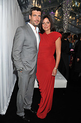 DAVINA McCALL and MATTHEW ROBERTSON at the Glamour Women of The Year Awards 2011 held in Berkeley Square, London W1 on 7th June 2011.