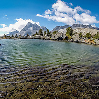 Thousand Island Pass in the Ansel Adams Wilderness - JMT, John Muir, Trail, Yosemite, Mt. Whitney, 240 miles, PCT, Pacific Crest Trail,  2015.  (EricReedPhoto.com)