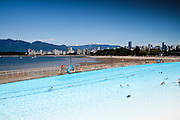The public pool at Kitsilano beach