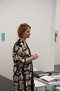 MEGAN PIPER, Opening of ART15, Olympia, London. 20 May 2015