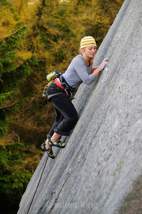Hazel Findlay on Wings of Unreason, E4, Roaches Skyline