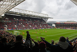 - Mandatory by-line: Alex James/JMP - 17/02/2019 - FOOTBALL - Ashton Gate Stadium - Bristol, England - Bristol City v Wolverhampton Wanderers - Emirates FA Cup fifth round proper