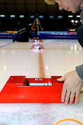 2009 SCHAATSEN: NK AFSTANDEN: HEERENVEEN<br /> Tijdregistraitie en fotofinish registratie - schaats item illustratief<br /> ©2009-WWW.FOTOHOOGENDOORN.NL
