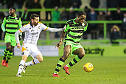 Forest Green Rovers Isaiah Osbourne(34) on the ball during the EFL Sky Bet League 2 match between Forest Green Rovers and Port Vale at the New Lawn, Forest Green, United Kingdom on 6 January 2018. Photo by Shane Healey.