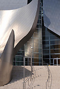 The Walt Disney Concert Hall designed by Frank Gehry, Los Angeles, California, USA
