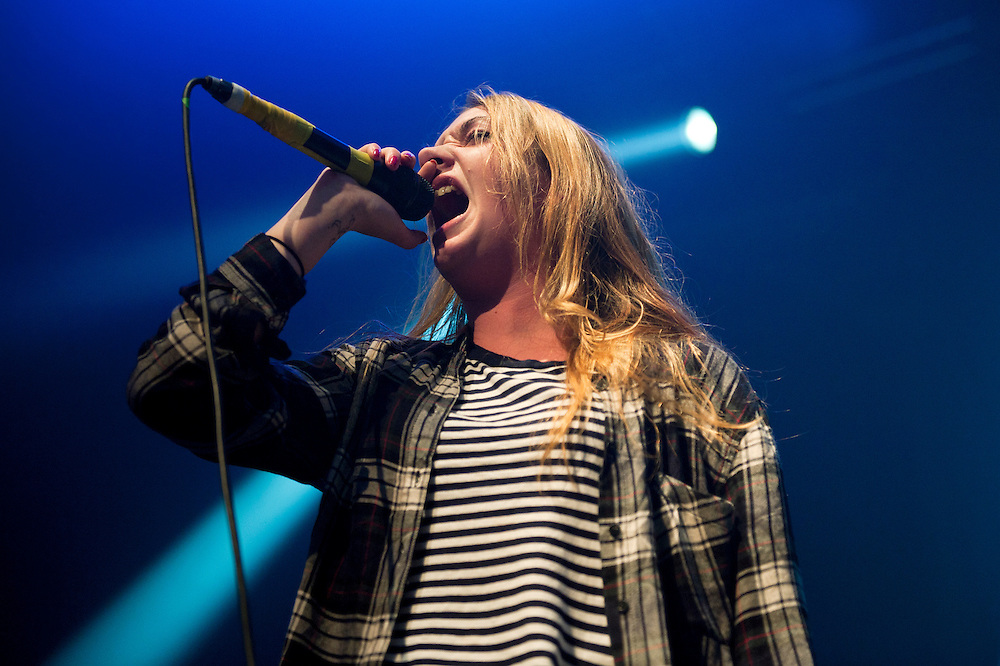 Marmozets live at Roundhouse, London on 09/12/14.