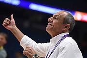 Ettore Messina<br /> Nazionale Italiana Maschile Senior<br /> Eurobasket 2017 - Group Phase<br /> Italia Germania Italy Germany<br /> FIP 2017<br /> Tel Aviv, 05/09/2017<br /> Foto M.Ceretti / Ciamillo - Castoria